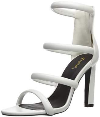 Qupid Women's HURST-16 Heeled Sandal