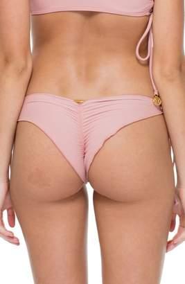 Luli Fama Seamless Side Tie Brazilian Bikini Bottoms