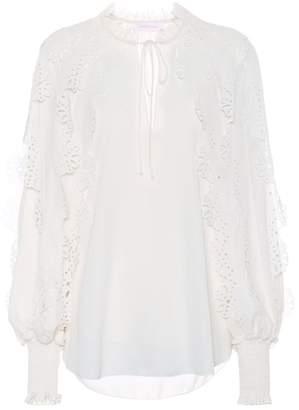 See by Chloe Georgette blouse