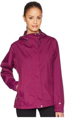 White Sierra Trabagon Rain Shell Women's Coat