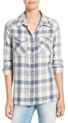Billabong 'Flannel Frenzy' Plaid Flannel Shirt $49.95 thestylecure.com