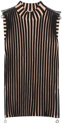 Edun Ribbed merino wool-blend top
