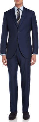 Luigi Bianchi Mantova Two-Piece Navy Wool Suit
