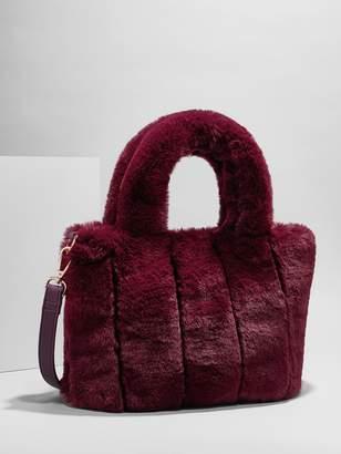 BaubleBar Penny Faux Fur Crossbody Bag
