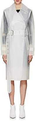 Helmut Lang Women's Vinyl Trench Coat