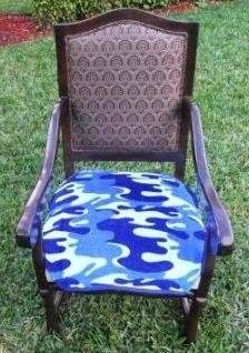 Camo SpecialTex CS-DCSP-BL CleanSeat Dining Chair Protector BLUE