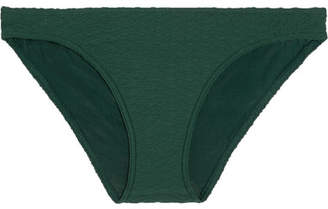 Eres Chronique Matelassé Bikini Briefs - Forest green