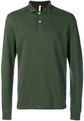 Sun 68 longsleeved polo shirt