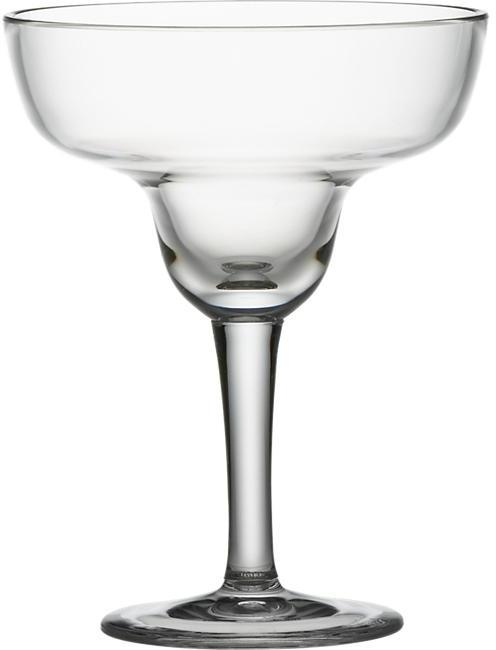 Crate & Barrel Acrylic Margarita Glass