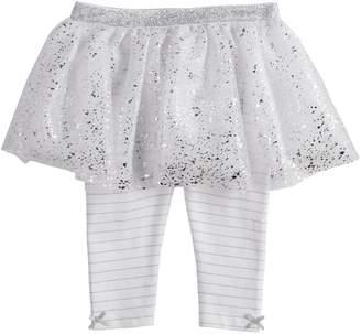 Baby Starters Baby Girl Glitter & Foil Tutu Leggings