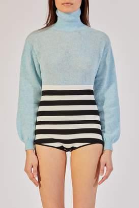 KHAITE The Julie Sweater in Seabreeze