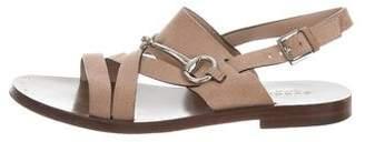 Gucci Columbia Reverse Flat Sandals