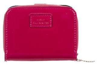 Lulu Guinness Patent Leather Compact Wallet