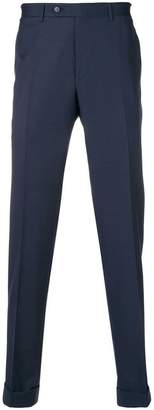 Canali tailored design trousers