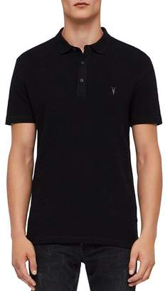 AllSaints Clash Regular Fit Polo Shirt