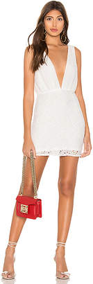 superdown Emery Plunge Mini Dress