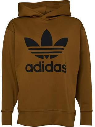 adidas x HYKE Womens Hoody Craft Khaki
