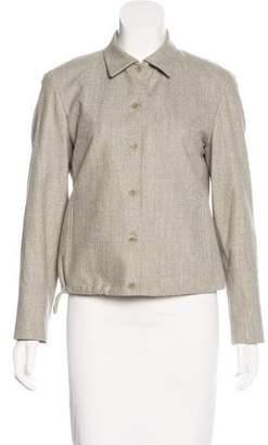 Tahari Wool Collared Jacket