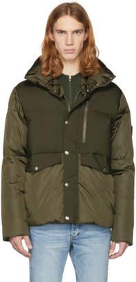 Moncler Green Down Cuzco Jacket