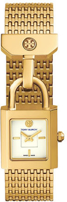 Tory Burch Surrey Golden Two-Hand Watch $395 thestylecure.com