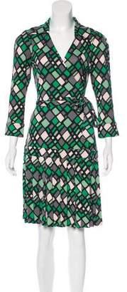 Diane von Furstenberg Shilo Silk Wrap Dress
