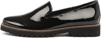 Django & Juliette Balancer Black Shoes Womens Shoes Casual Flat Shoes
