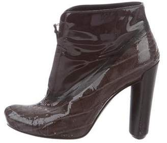 Louis Vuitton Pointed-Toe Ankle Boots