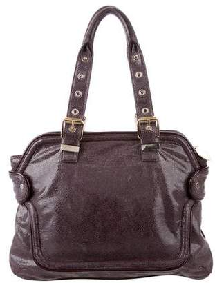 Stella McCartney Embossed Vegan Leather Tote