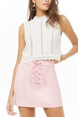 f412088d96c6 Forever 21 Pink Mini Skirts - ShopStyle Canada