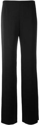 Armani Collezioni wide-leg trousers $257.42 thestylecure.com