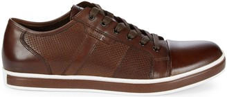 Kenneth Cole Brandwidth Leather Low-Top Sneakers