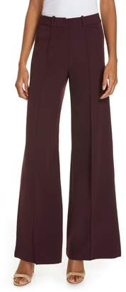 Milly Hayden Seam Front Wide Leg Pants