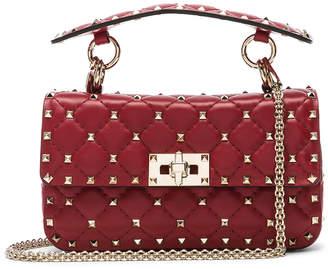 Valentino Small Rockstud Spike Shoulder Bag