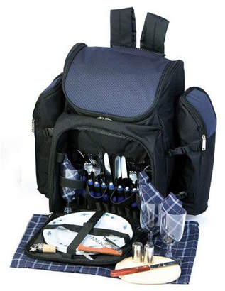Picnic Plus by Spectrum Tandoor 4 Person Deluxe Picnic Backpack