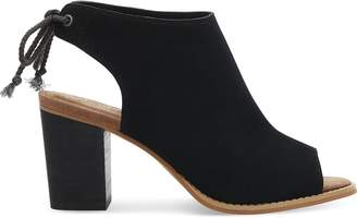 Toms Black Suede Women's Elba Booties