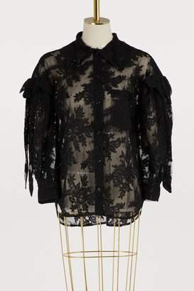 Simone Rocha Lace shirt
