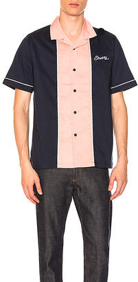 Stussy Middle Block Bowling Shirt