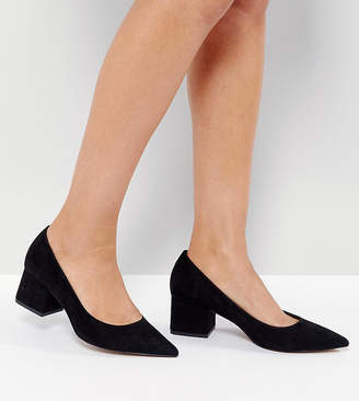 Asos Design SIMPLY Block Mid Heels