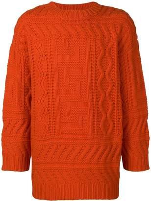 Études cable knit sweater
