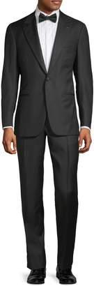 Isaia Slim-Fit Peak Lapel Wool Tuxedo
