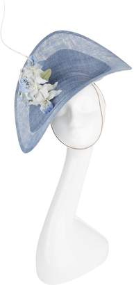 Philip Treacy Wave Hat with Flowers