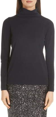 Lafayette 148 New York Merino Wool Modern Turtleneck Sweater