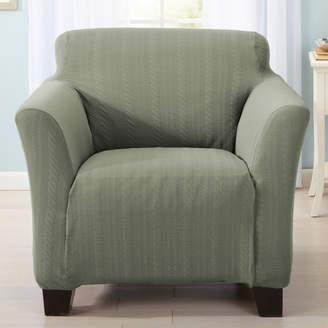 Home Fashion Designs Darla Box Cushion Armchair Slipcover