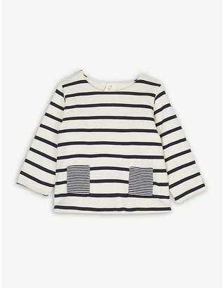 Petit Bateau Sailor stripe cotton jumper 1-12 months