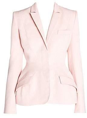 Stella McCartney Women's Wool Twill Nipped Blazer