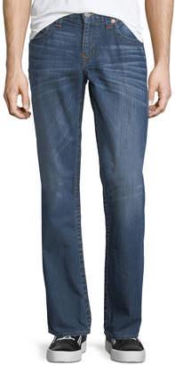 True Religion Flap-Pocket Straight-Leg Jeans