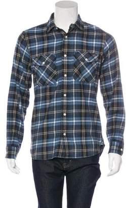 Jack Spade Plaid Flannel Shirt
