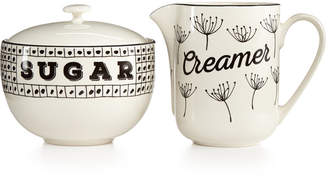 Lenox Around The Table Collection 2-Pc. Sugar & Creamer Set