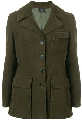 Aspesi fitted longline jacket