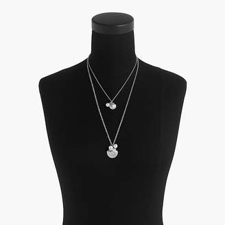 J.Crew Shell-and-pearl necklace